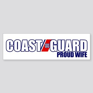 USCG Wife Sticker (Bumper)